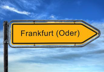Strassenschild 26 - Frankfurt Oder