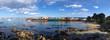 Leinwanddruck Bild - Panoramic View of Monterey Bay, California