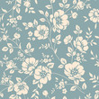 Seamless floral pattern - 75249447