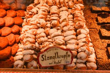 Christmas Market at Rathausplatz in Vienna, Austria