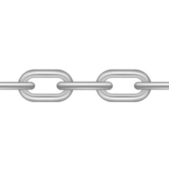Chain in silver design