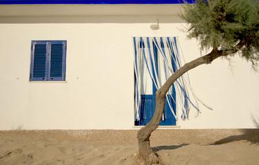 Cabine al mare (Puglia, Italia)