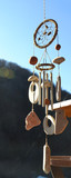 Wooden wind chimes poster