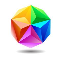 Spectrum geometric sphere.