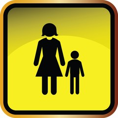 Family icons set   Illustration