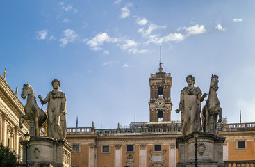 statues of the Dioscuri