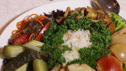 Assorti pickled vegetables