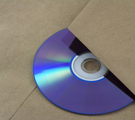 Unmarked envelope with a cd inside