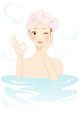 入浴中の女性 おすすめ