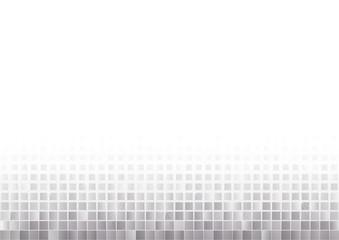 silver mosaic squares gradually fading