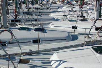 A Fleet of Yachts