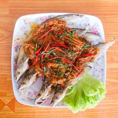 fish prepared Thai style
