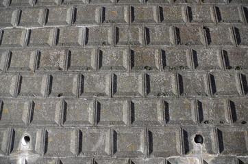 コンクリートの石垣