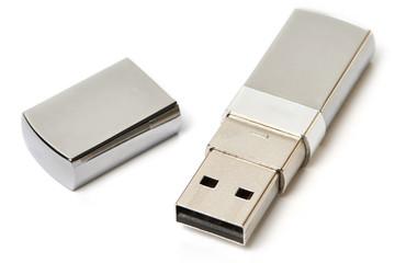 USB Flash Drive isolated
