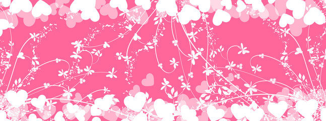 Romantic heart background- timeline cover