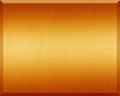 Orange Metal Plate