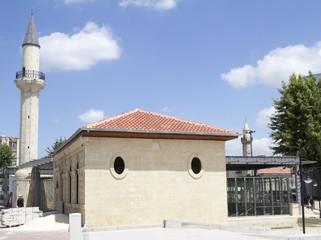 historic prophet daniel mosque and musem Tarsus Turkey