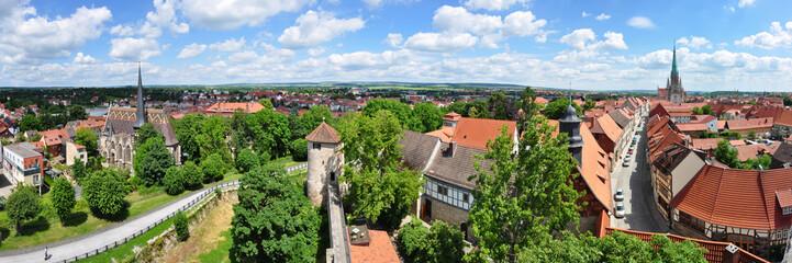 Panoramafoto Mühlhausen / Thüringen