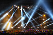 Stage Spotlight with Laser rays - 75259241
