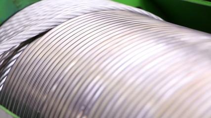 Heavy industry - steel rope, hawser