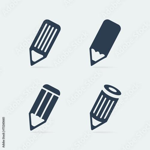 Zdjęcia na płótnie, fototapety, obrazy : Symbol set pen