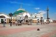 Leinwandbild Motiv Railway Station in Krasnoyarsk, Russia