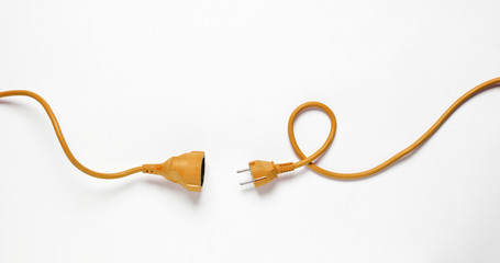 Orange Power Cable