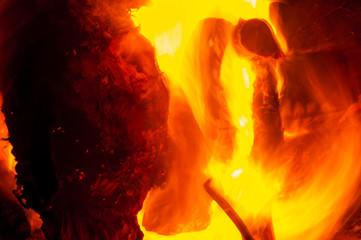 fire burning fire