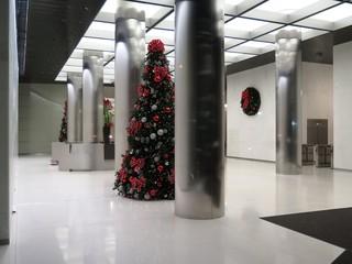 Corporate Christmas- Lobby Interior