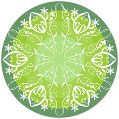 Green mandala for energy and power obtaining