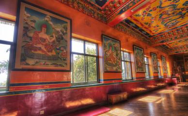 kopan monastery located near kathmandu nepal