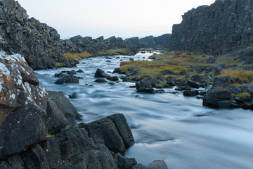 Rapid in iceland