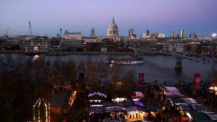 St Paul's Cathedral, seen from Tate Modern