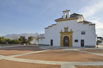Shrine in the mountain range of Granada