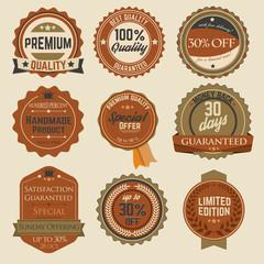 Vintage Sale Stickers 03