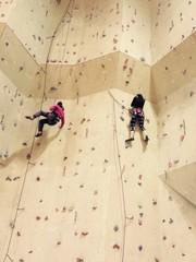 tırmanış öğrencileri