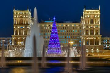 Main Christmas tree Baku