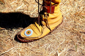 Indian moccasin.