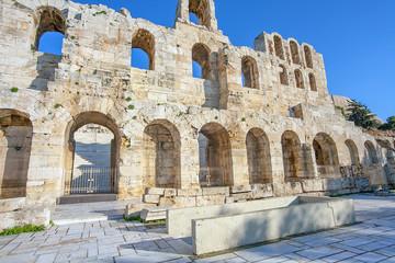 Amphitheater Akropolis in Athen