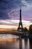 Fototapeta Wieża Eiffla - Tour Eiffel Paris © PUNTO STUDIO FOTO AG