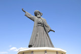 statue of famous Mevlana Rumi, whirling dervish