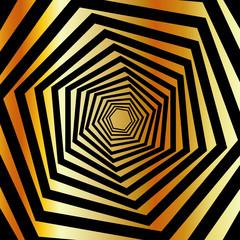 Golden furutistic background