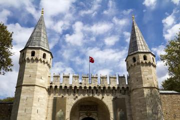 Gate of Salutation of Topkapi Palace Istanbul