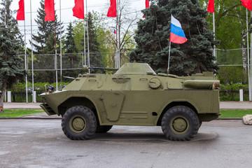 Reconnaissance/Patrol Vehicle BRDM-2