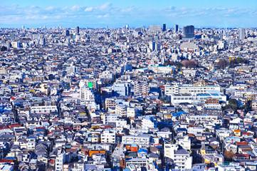 東京の住宅街の風景