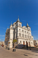 Catholic church of Pentecost (1892) in Lodz, Poland