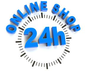 24 h online shop