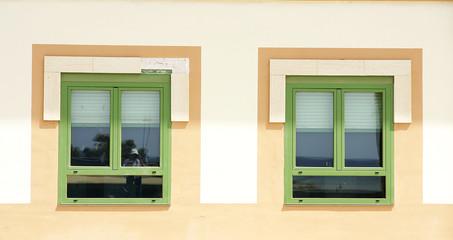 Detalle ventanas típicas de la arquitectura canaria, Arrecife