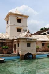Taman sari water castle in Yogyakarta. Java. Indonesia