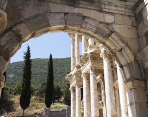 Library Of Celsus at Ephesus Library of Celsus, Ephesus, Turkey.